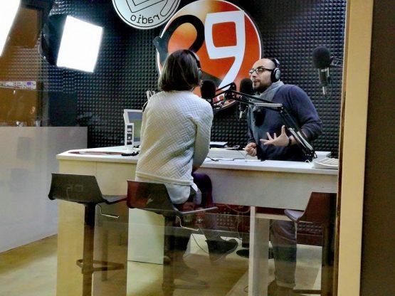 La mia intervista radio